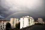 Regenbogen über Innsbruck