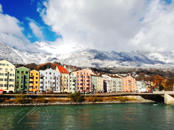 Innsbruck, Innpromenade, WInter